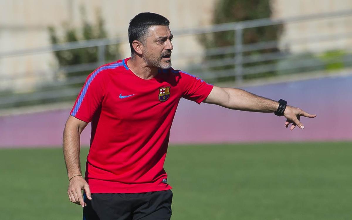 Garcia Pimienta entrenarà el Juvenil A