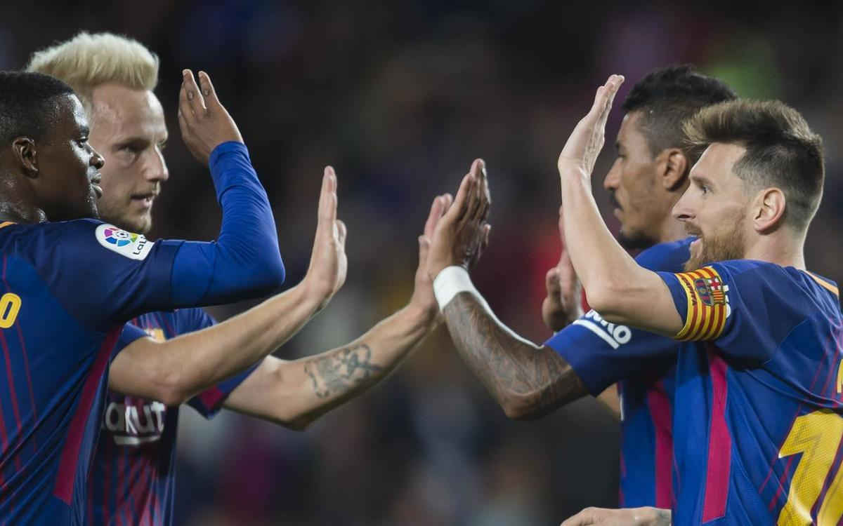 Ernesto Valverde and Barça a perfect five for five in La Liga