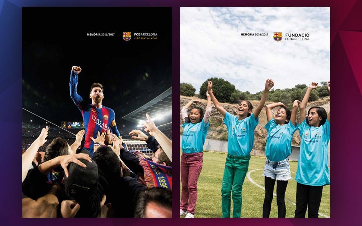Consulta les memòries del FC Barcelona corresponents a la temporada 2016/17