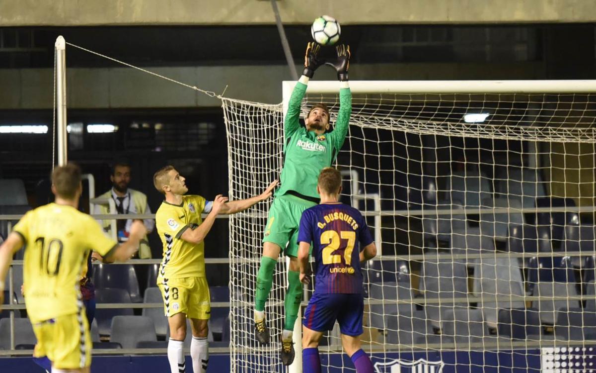Jokin Ezkieta y J. Cuenca, dos debuts más en La Liga 123