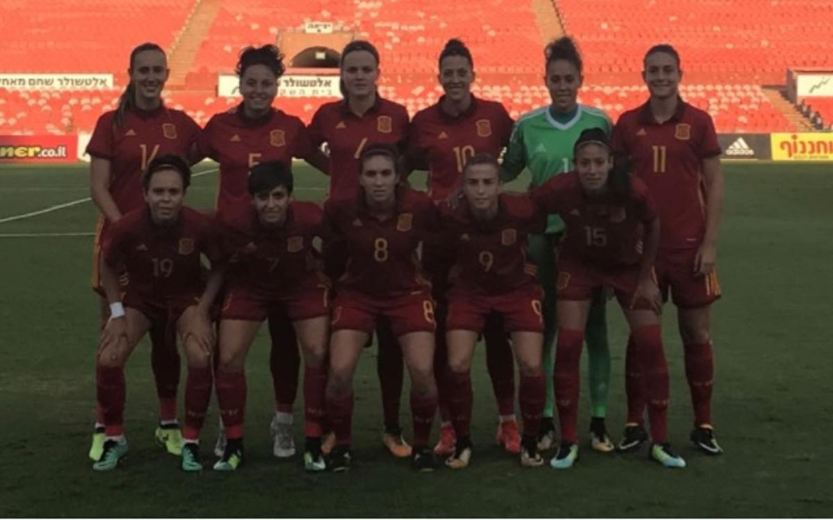 Còmode debut classificatori per a Espanya (0-6)