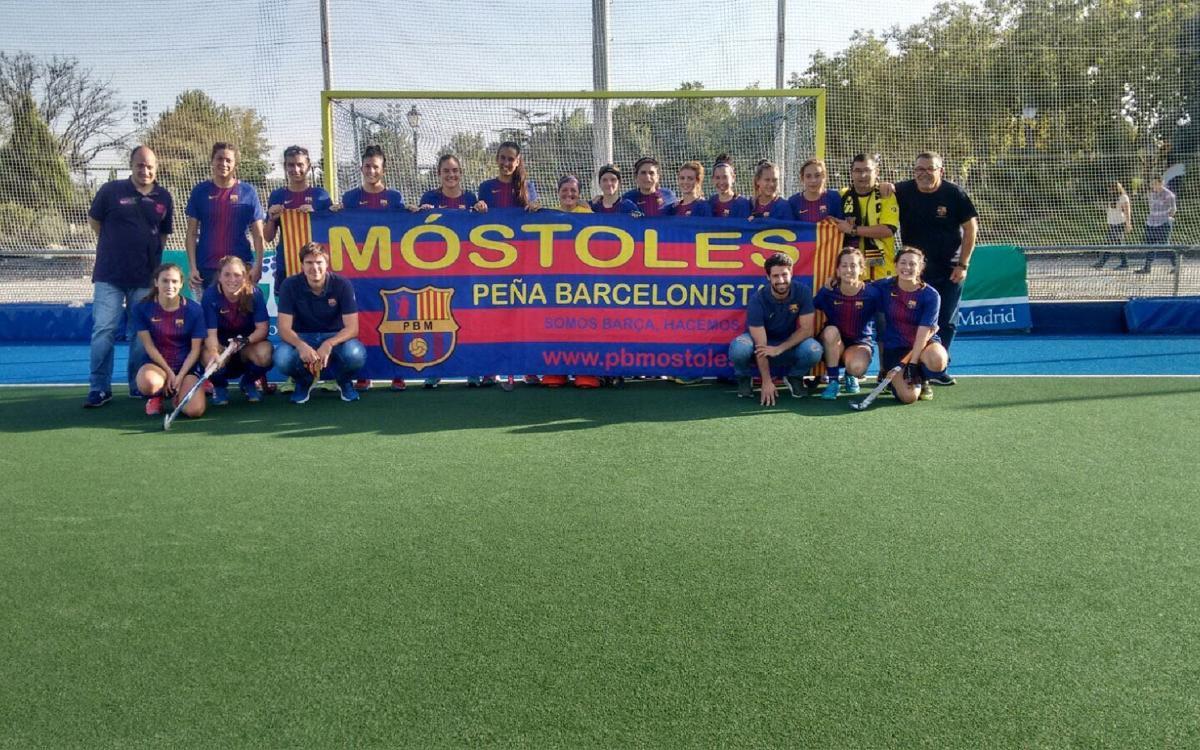 El Barça femenino de hockey hierba sigue invicto en Primera División