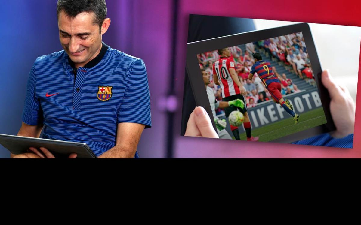 Valverde posa a prova la seva memòria sobre els últims Athletic Club-Barça