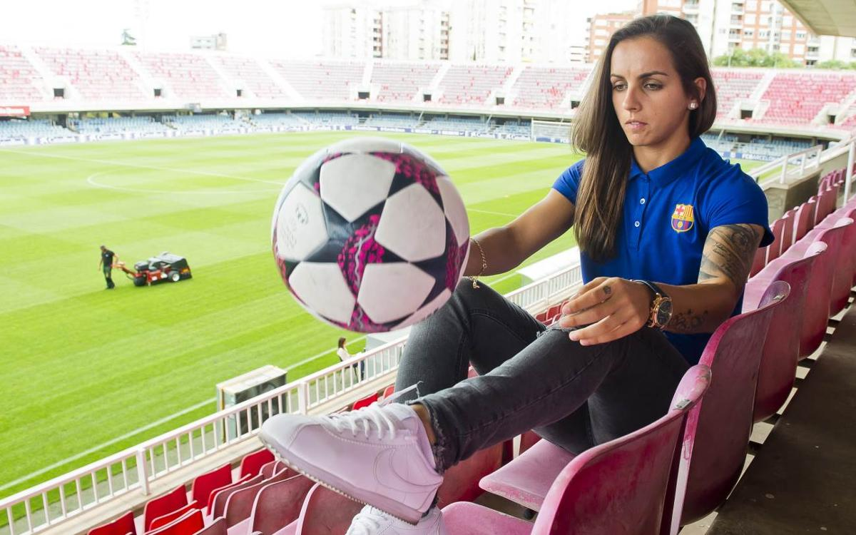 Nastasa Andonova, another new face at Barça Women