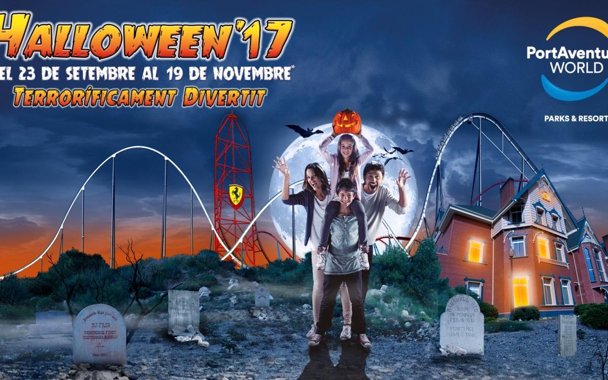 2x1 en Halloween'17 de PortAventura World per als socis