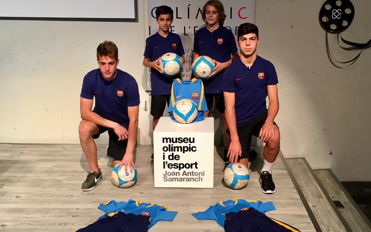 La Masia col·labora amb el Nadal Solidari del Museu Olímpic i de l'Esport