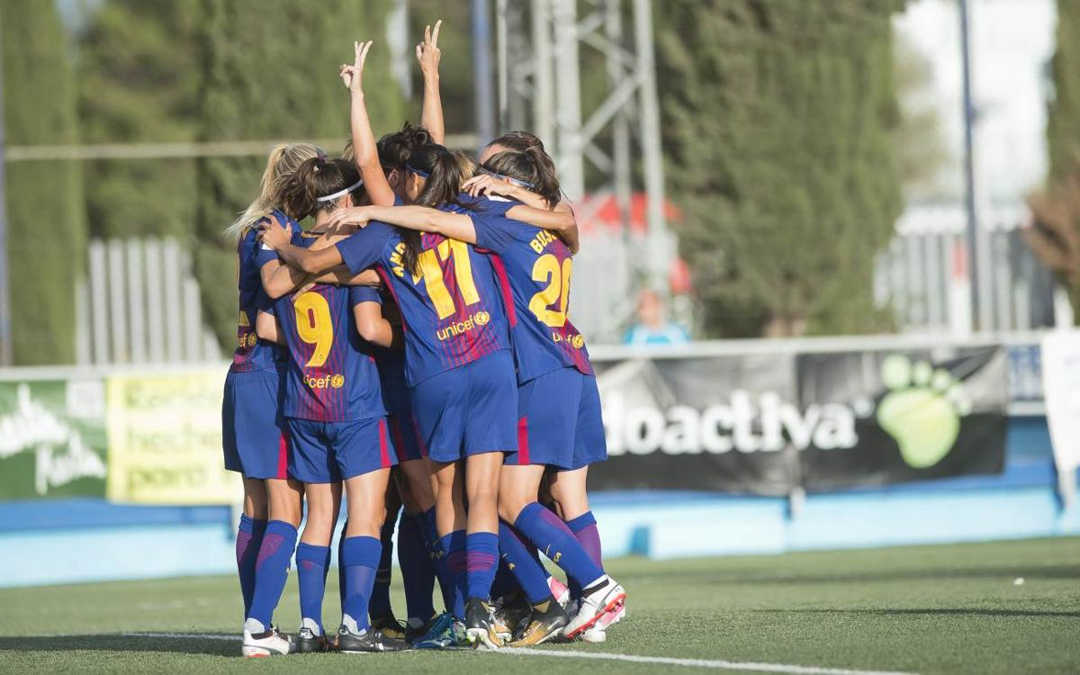 Zaragoza CFF 0-9 FC Barcelona: Rout to start league campaign