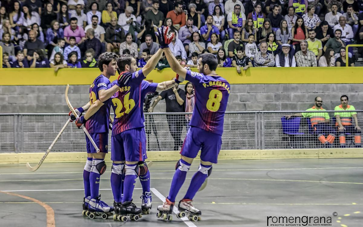 Asturhockey 1-9 FC Barcelona Lassa: Great start to the league