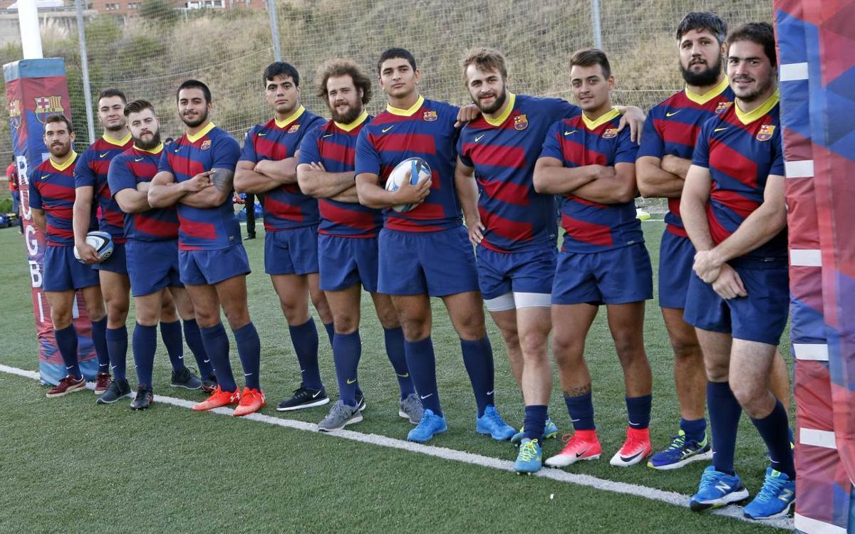 El Barça de Rugby incorpora a trece jugadores nuevos para consolidarse en Primera
