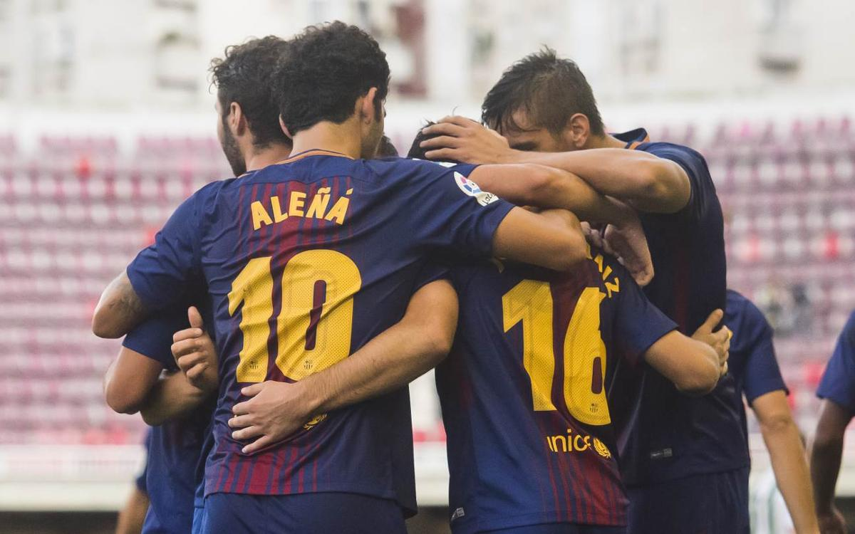 Barça B-Córdoba CF: Big win in the Mini (4-0)