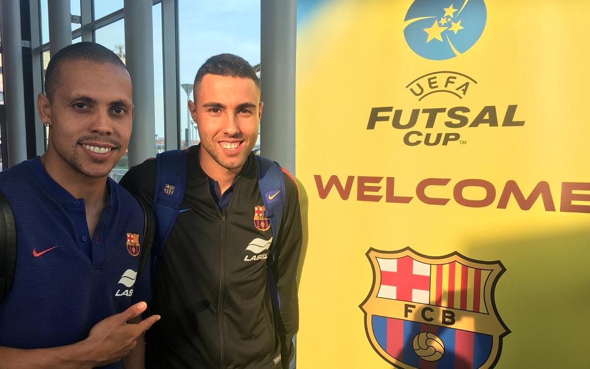 El Barça Lassa ya ha llegado a Padua
