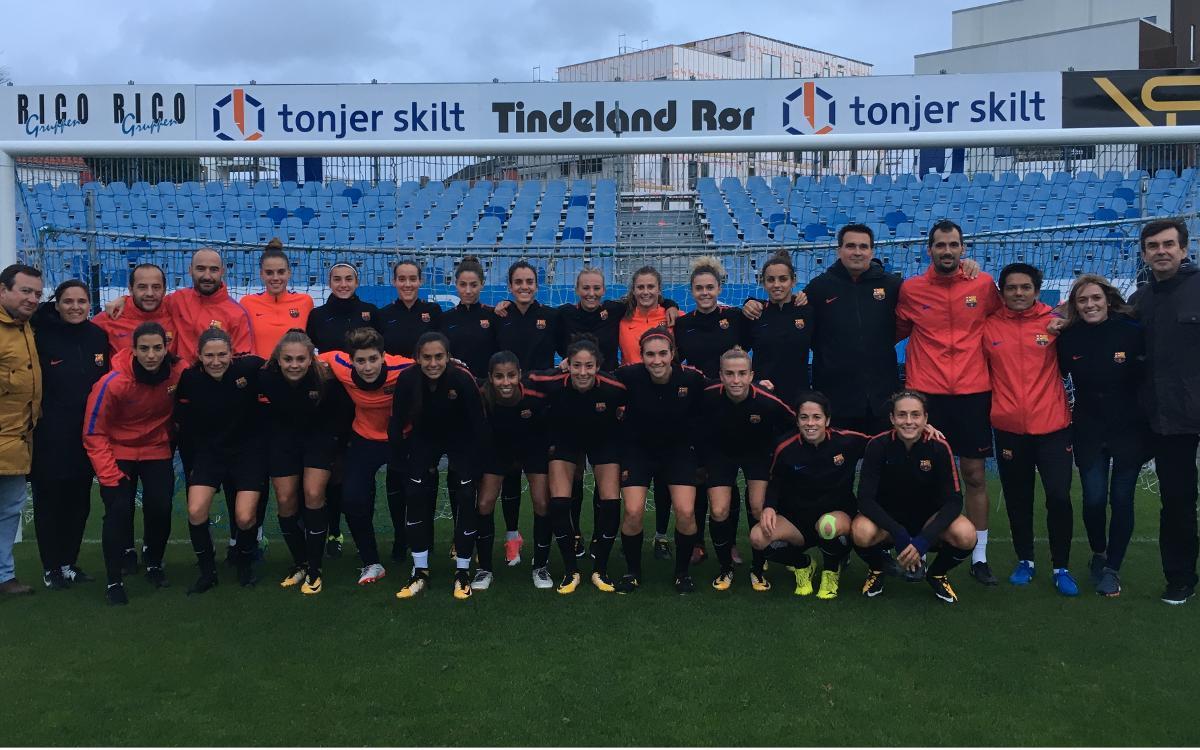 Avaldsnes IL - FC Barcelona Femenino (previa): Europa os mira
