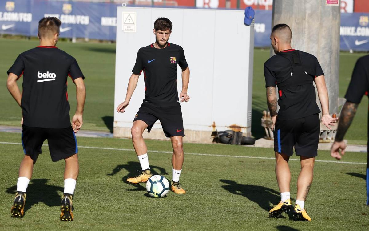 Final session of the week at the Ciutat Esportiva