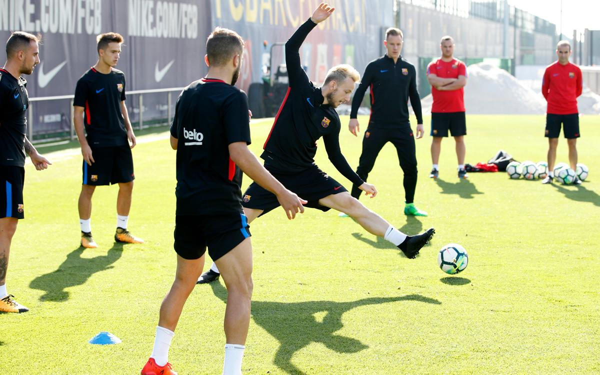 More internationals report back for training at Ciutat Esportiva