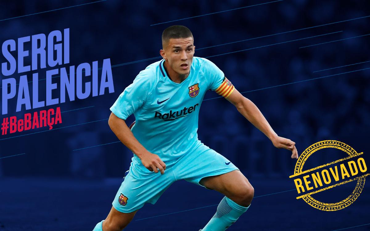 Sergi Palencia extends contract to 2020