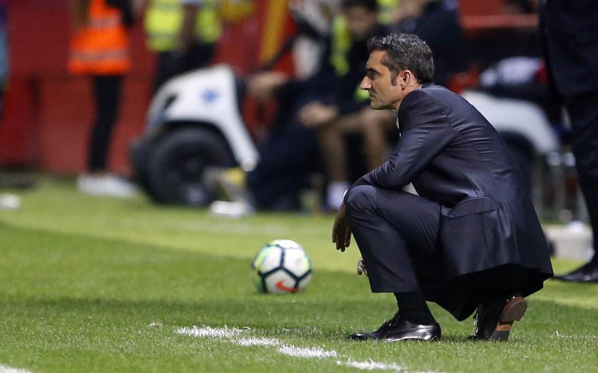"Ernesto Valverde: ""Ens ha costat rematar el partit"""