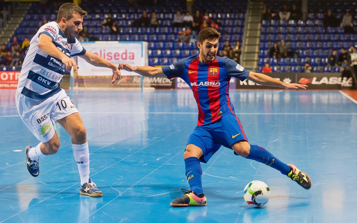 El Barça Lassa quiere acabar con la resistencia del Ríos Renovables