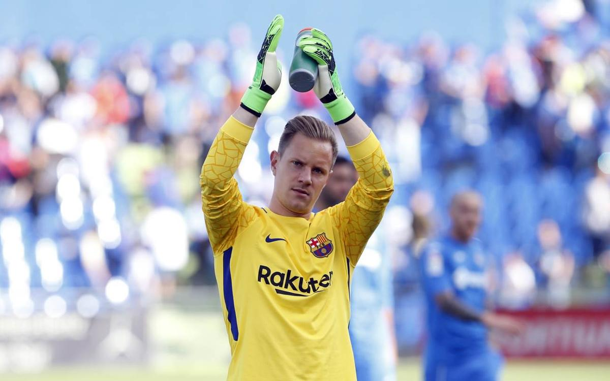 A great start to the season for Ter Stegen