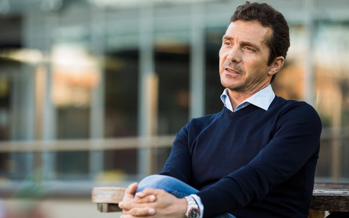 Guillermo Amor, responsible for first team institutional and footballing relations