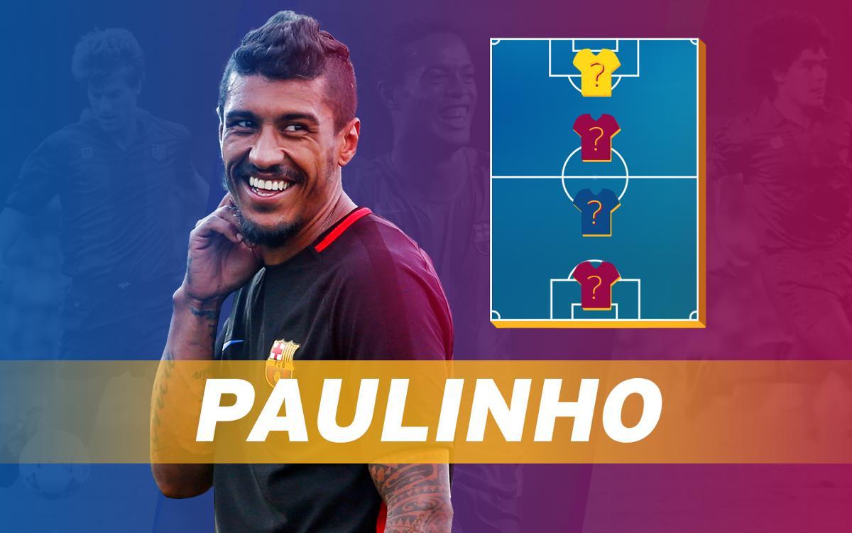 My Top 4: Paulinho reveals his heroes