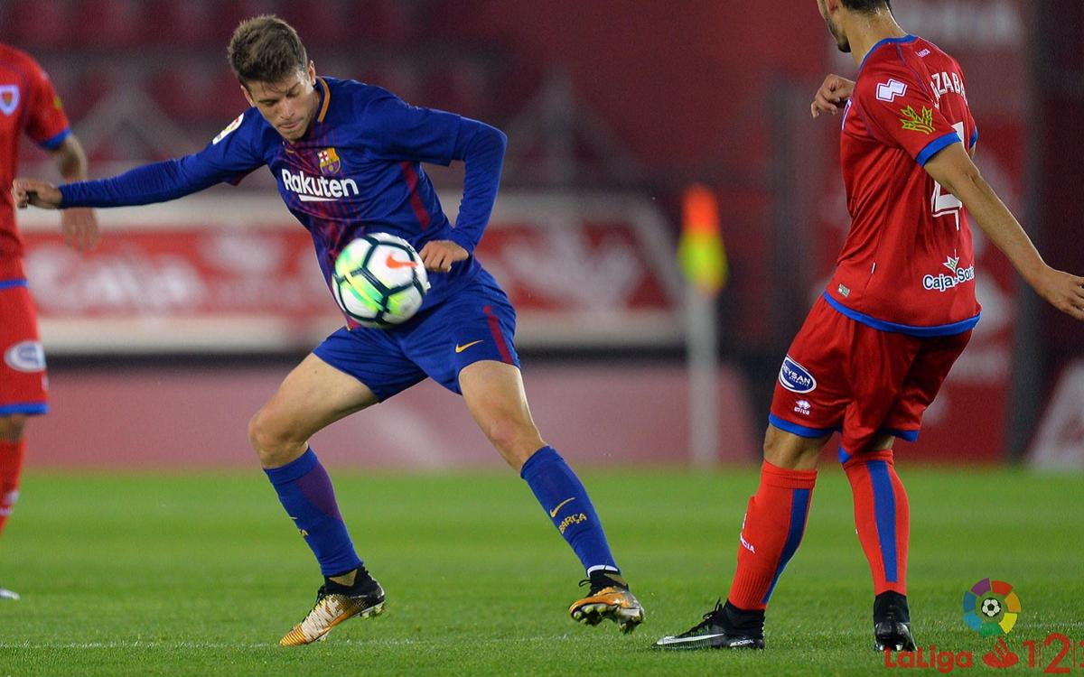 CD Numancia – Barça B: No reward in Soria (1-0)