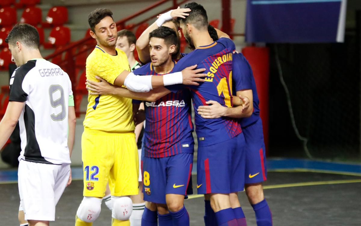 FC Barcelona Lassa – Györ: Big win in European debut (7-0)