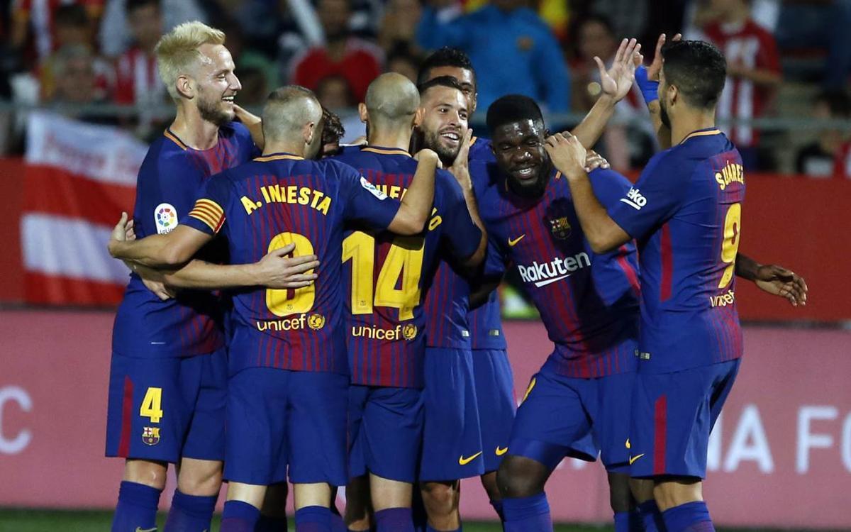 Girona FC 0-3 FC Barcelona: Top cats
