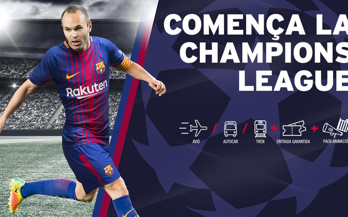Més FCBPunts per als socis que adquireixin dos viatges de la Champions