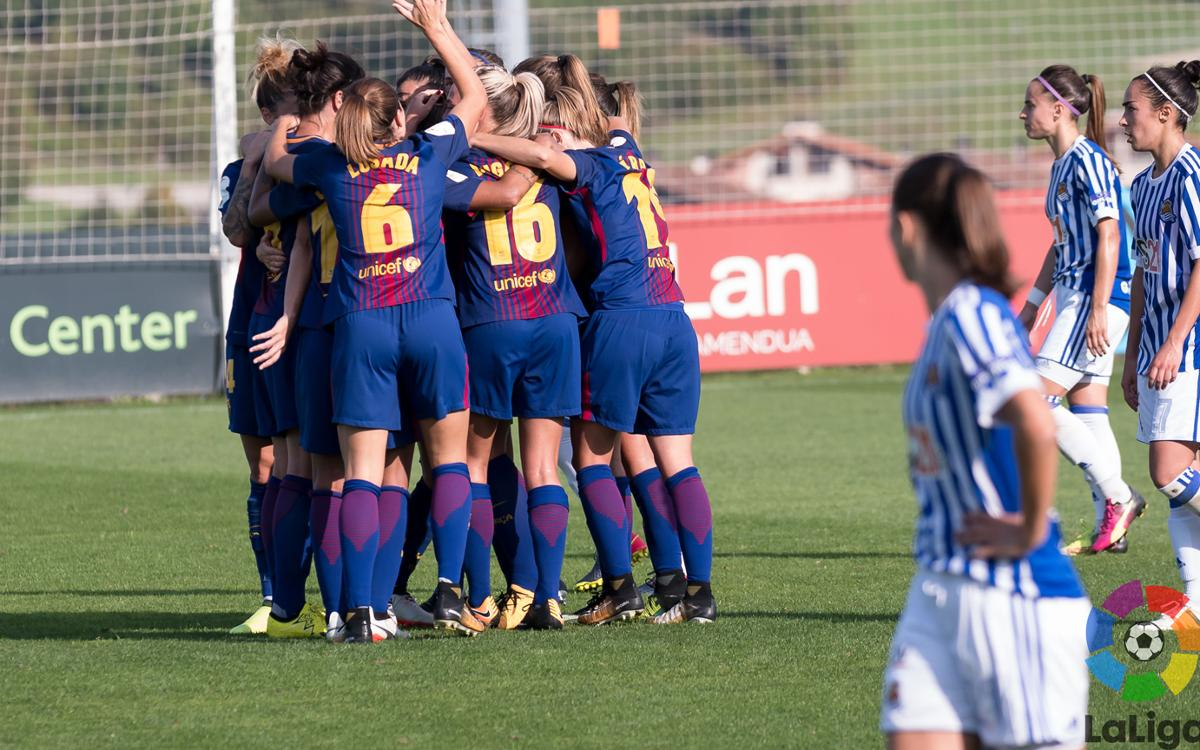 Real Sociedad – FC Barcelona Femeni: A win with belief (0-1)