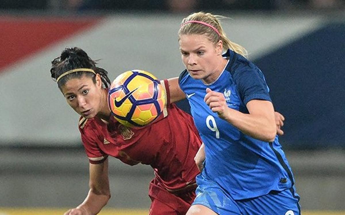 La França de Bussaglia venç Espanya tot i el gol de Mariona (3-1)