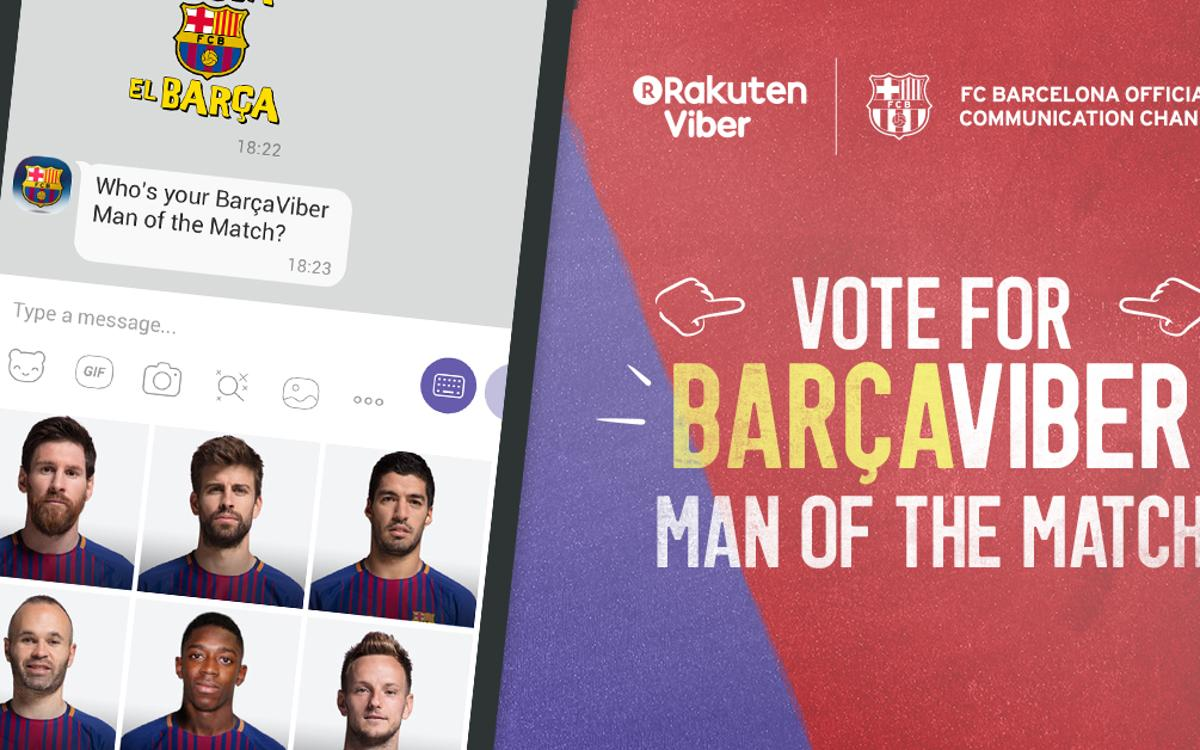 FC Barcelona launches chatbot on Viber