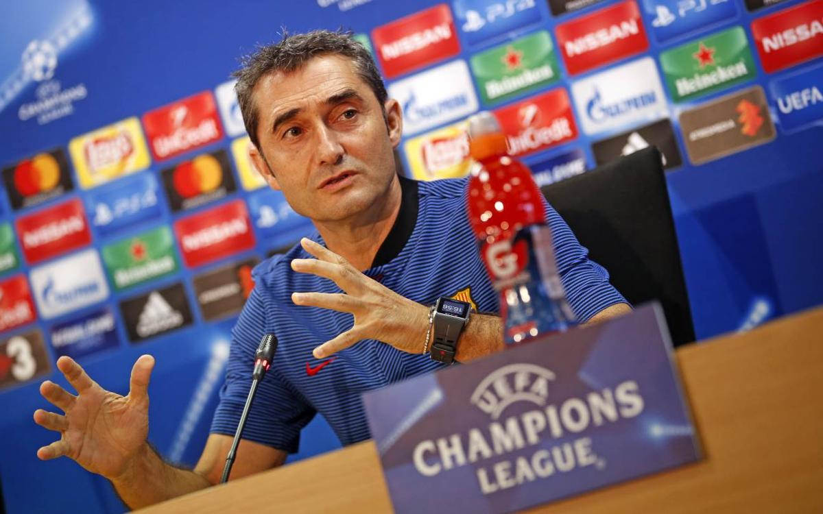 Valverde: 'It will be an intense match between two important teams in Europe'