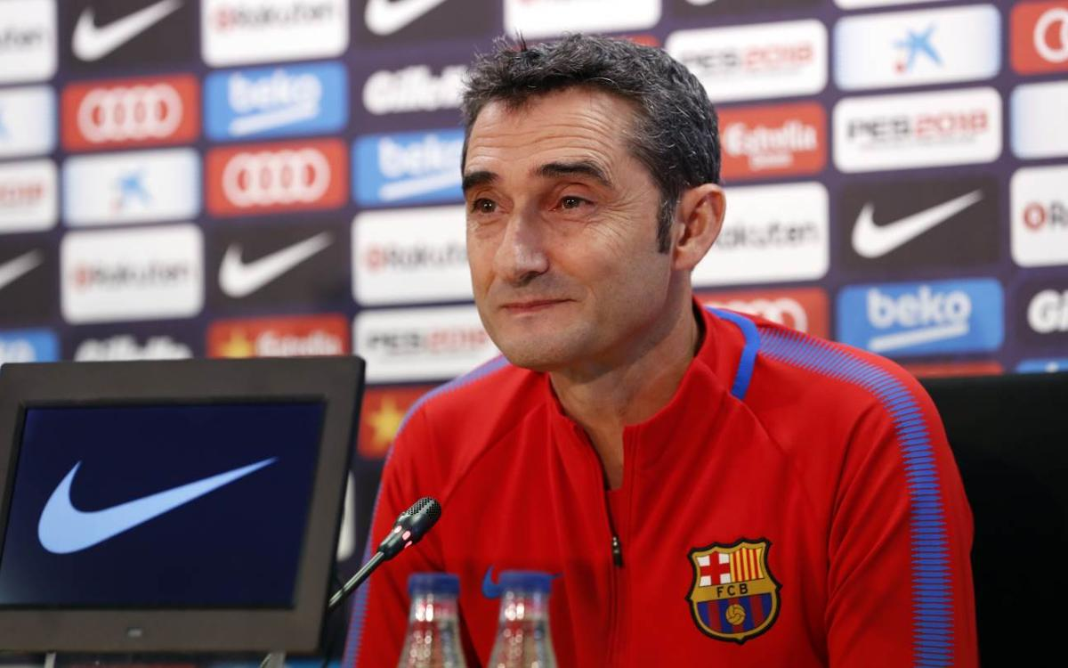 Ernesto Valverde: Six down, three to go