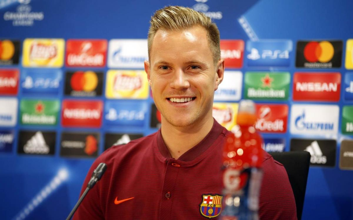 Ter Stegen says bid for Champions League starts here