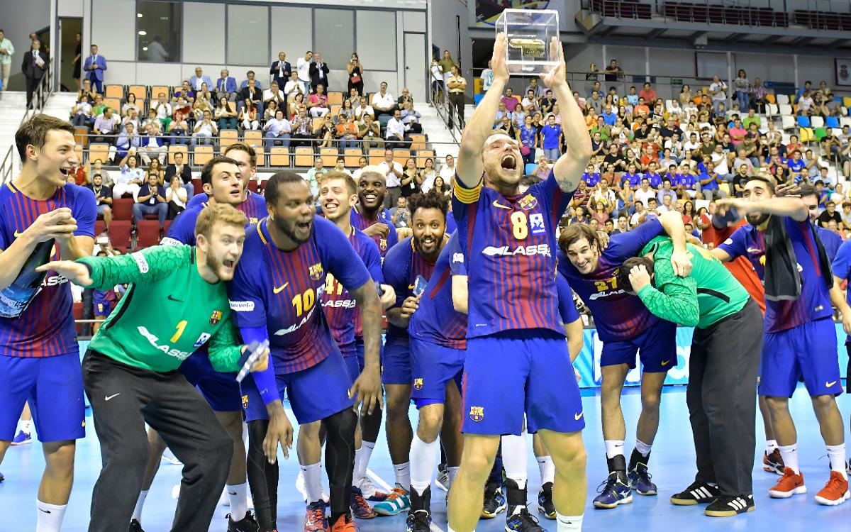 Sisena Supercopa Asobal consecutiva del Barça Lassa