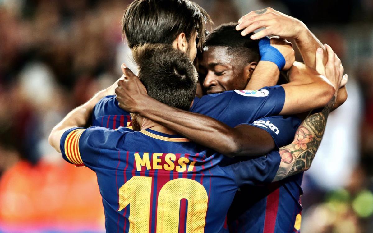 Highlights: Barça 5 Espanyol 0