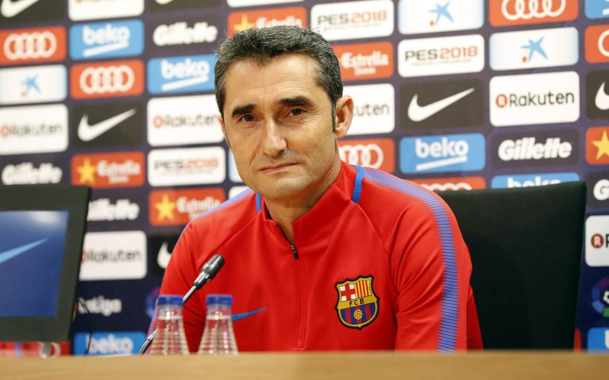 Valverde says lineup changes 'likely' versus Getafe