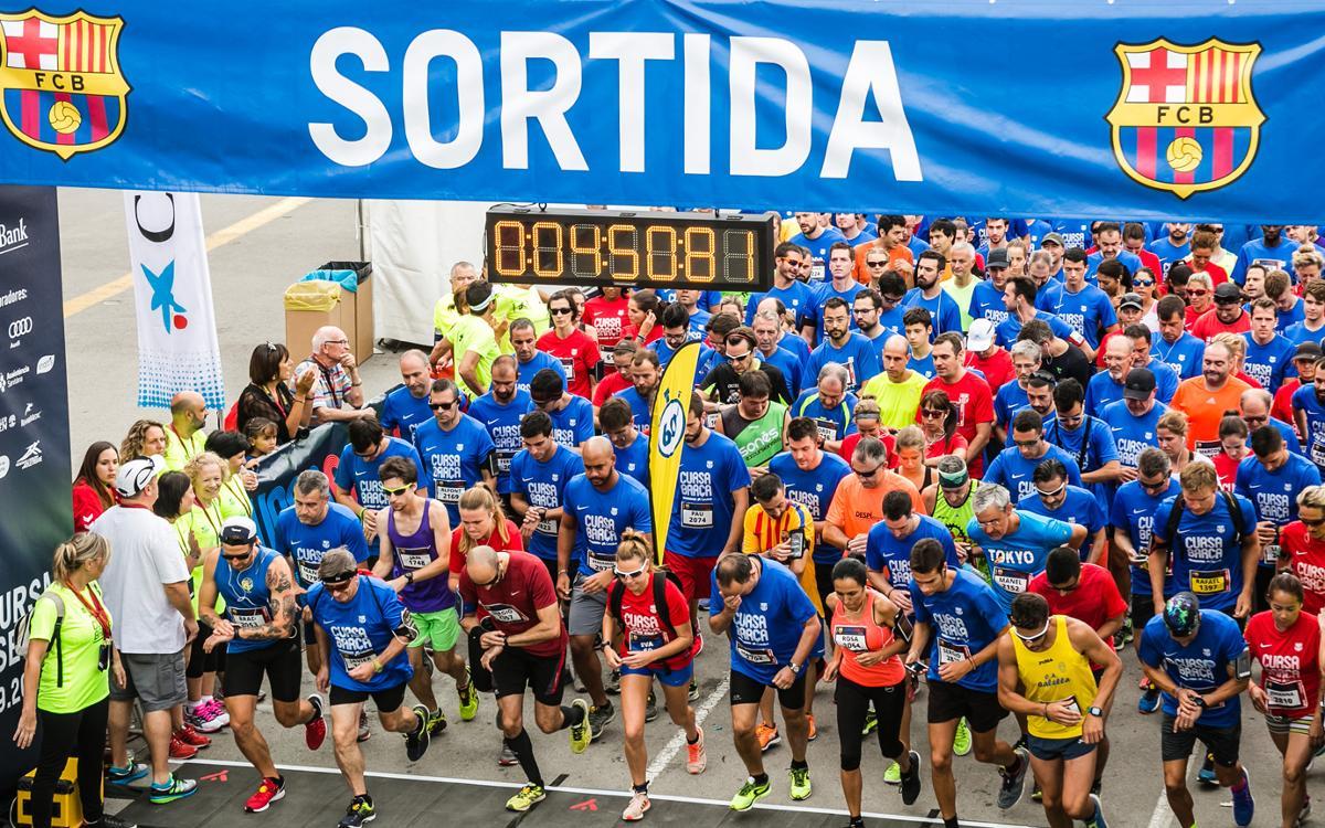 La sisena edició de Corrent Fem Barça viu les dues primeres curses