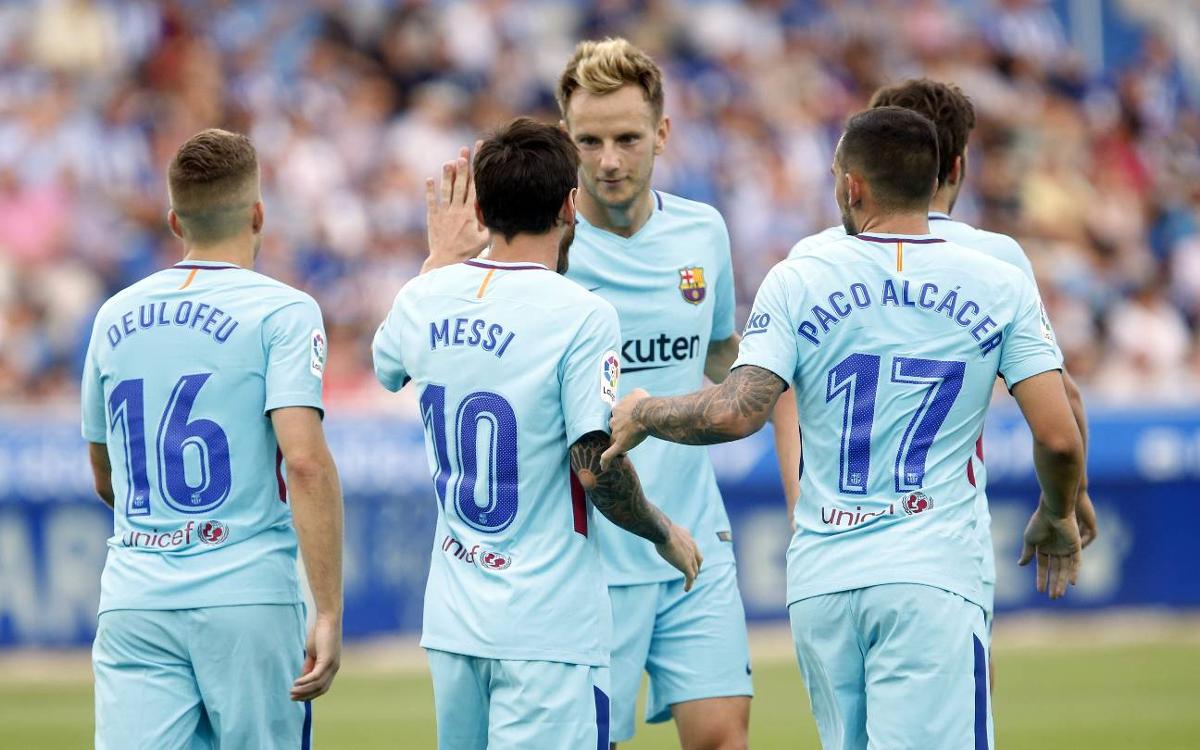 Los dorsales definitivos del FC Barcelona 2017/18