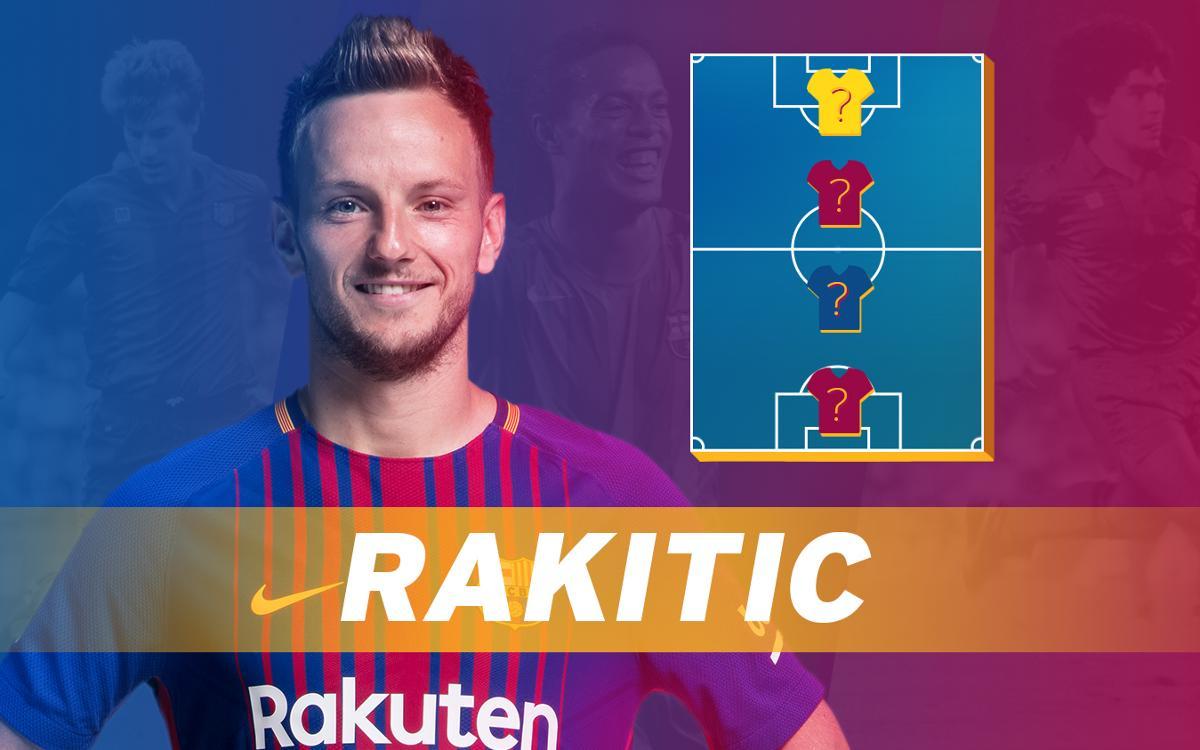 My Top 4: Rakitic reveals his heroes
