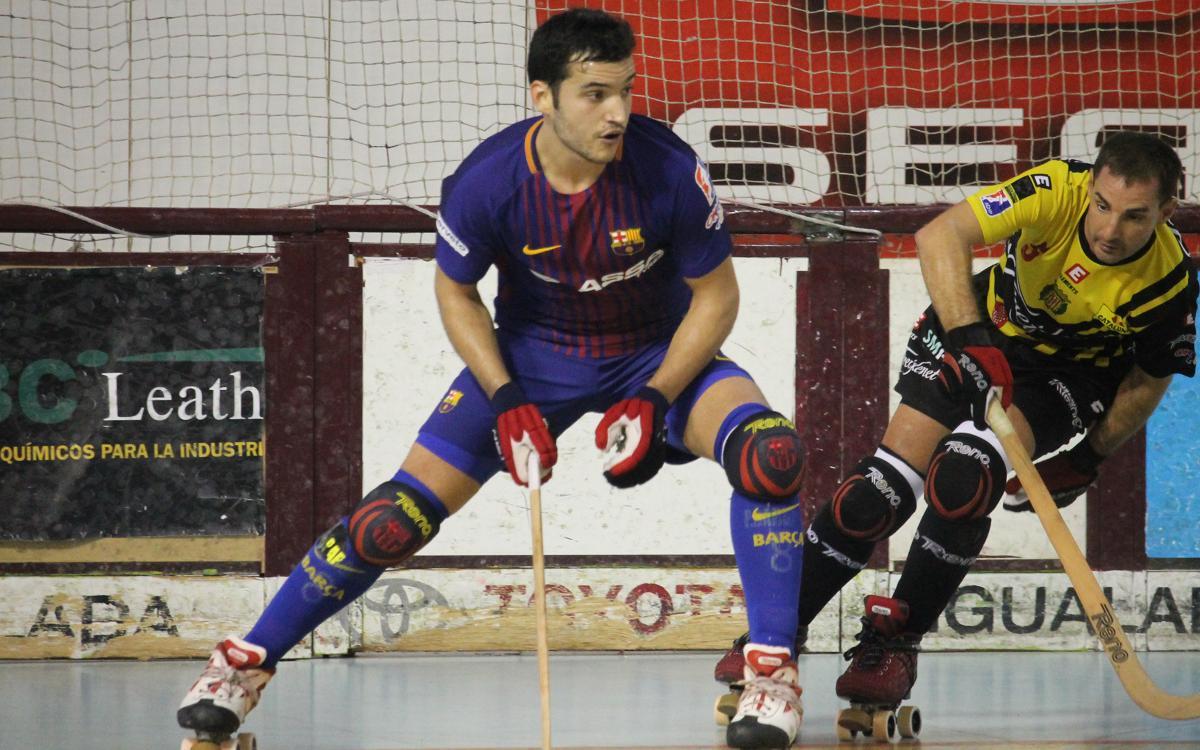 Barça Lassa-CE Noia Freixenet: Sense final (2-5)
