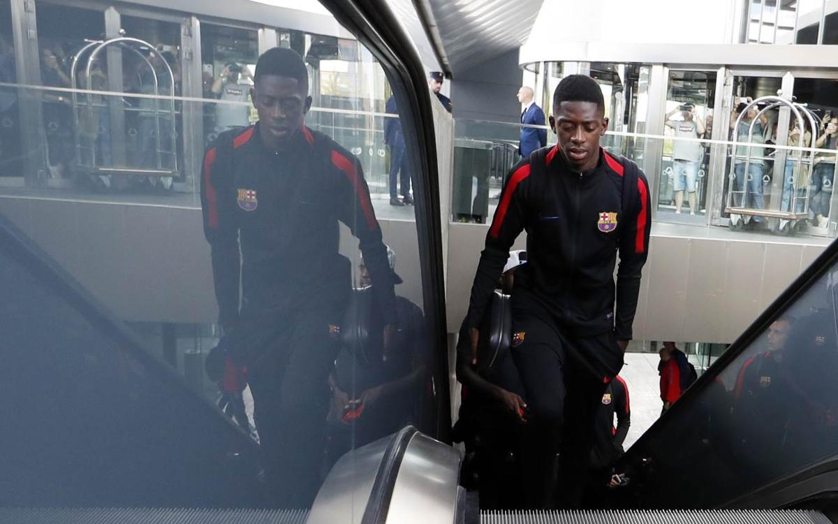 Dembélé successfully operated on