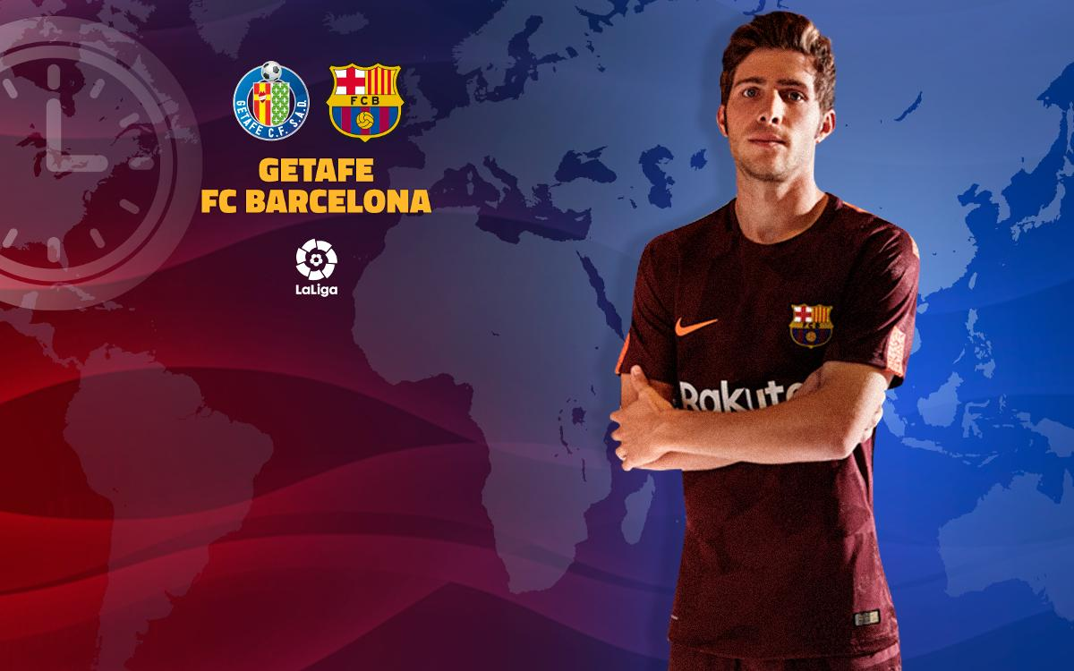 When and where to watch Getafe CF vs FC Barcelona