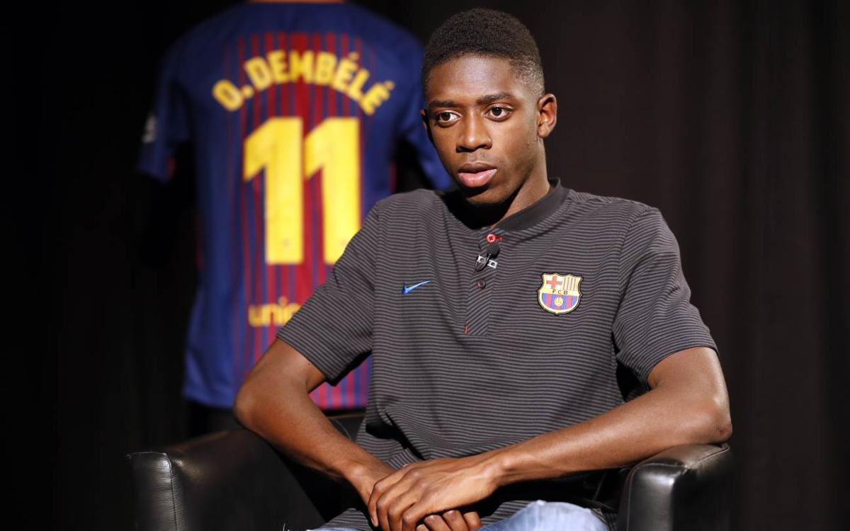 Ousmane Dembélé: 'I love the way Barça play'