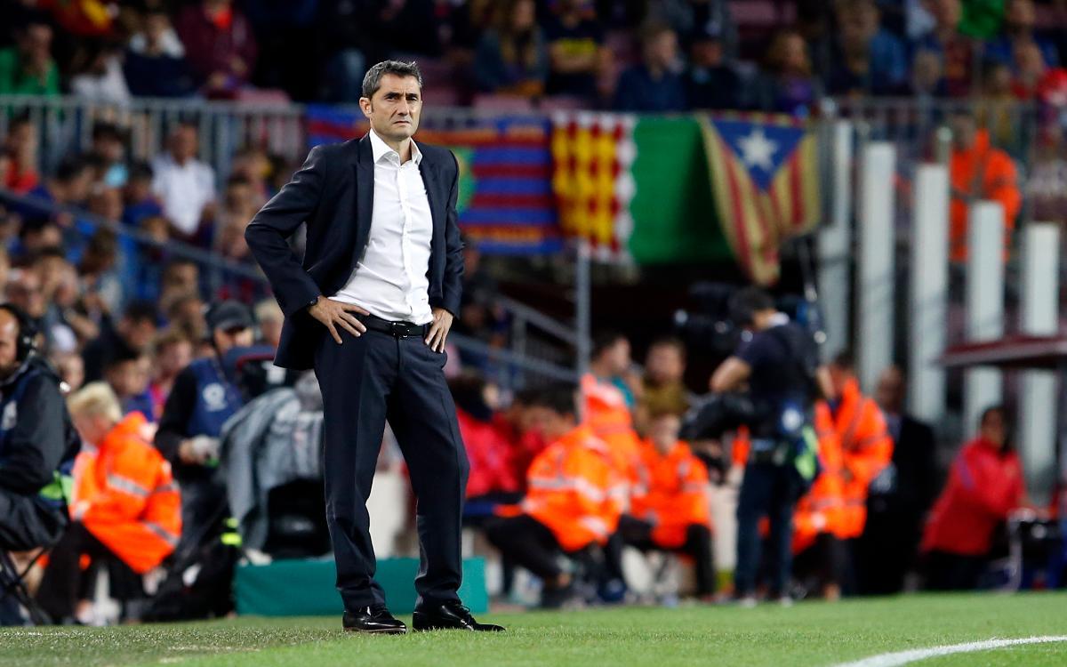 El mejor inicio de Ernesto Valverde en la Liga