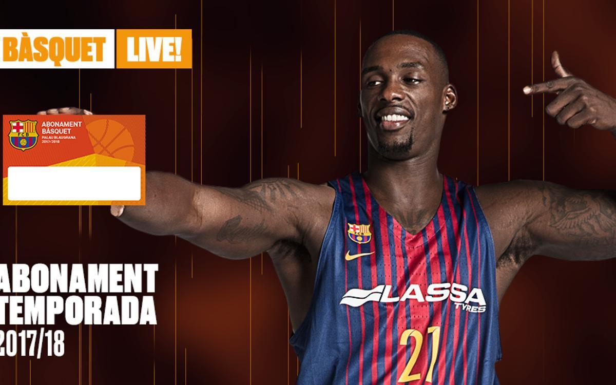 Procés de petició d'abonaments de bàsquet per al Palau Blaugrana