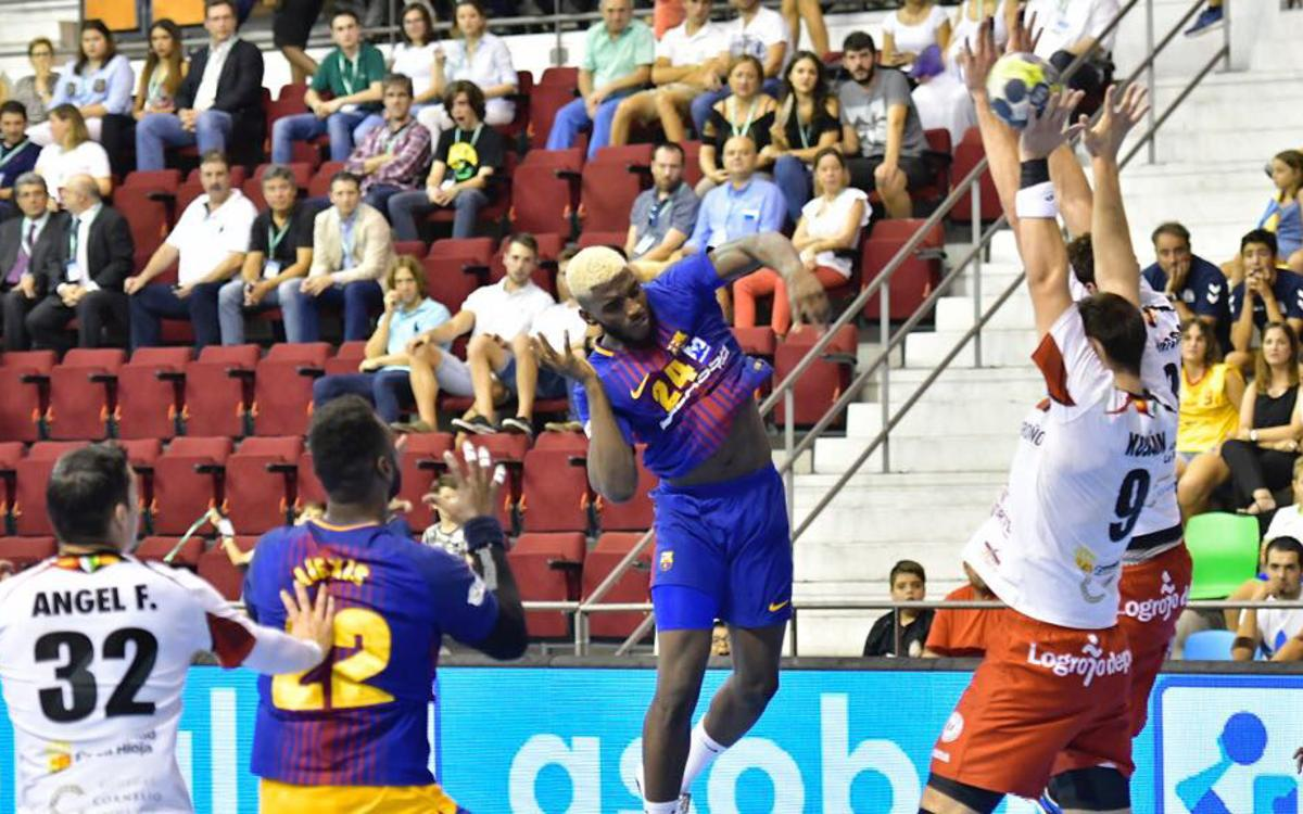 FC Barcelona Lassa v Logronyo La Rioja: Second trophy of the season (31-25)
