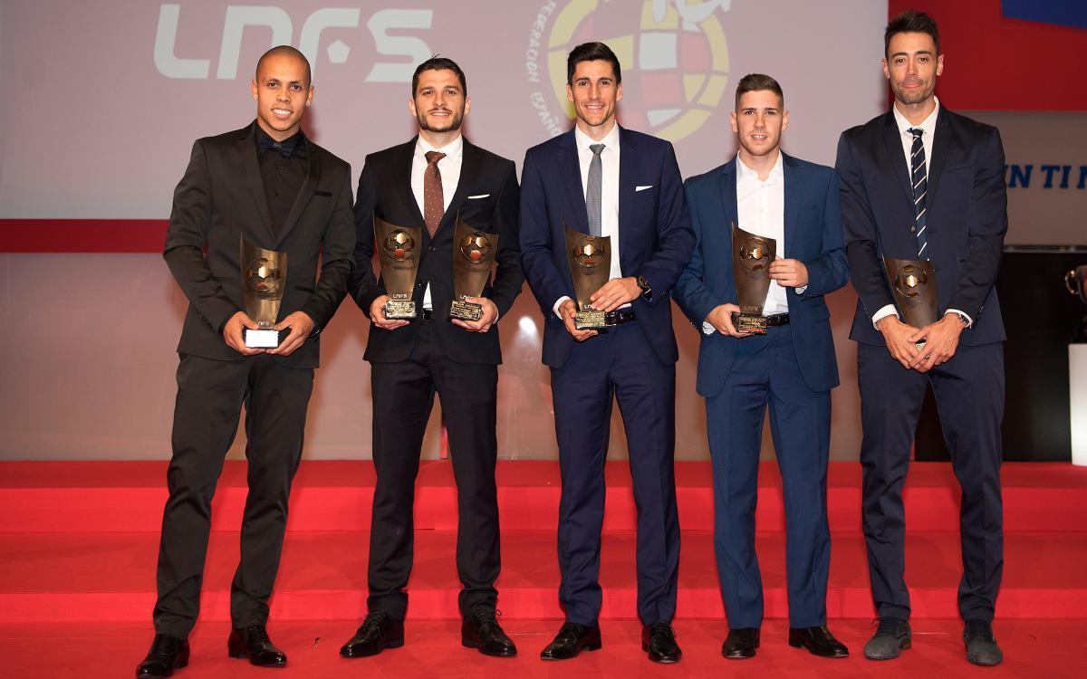 El FC Barcelona Lassa, protagonista a la gala de presentació de la temporada de la LNFS