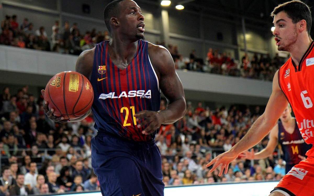 Barça Lassa-Valencia Basket: Siguen en buena línea (69-63)