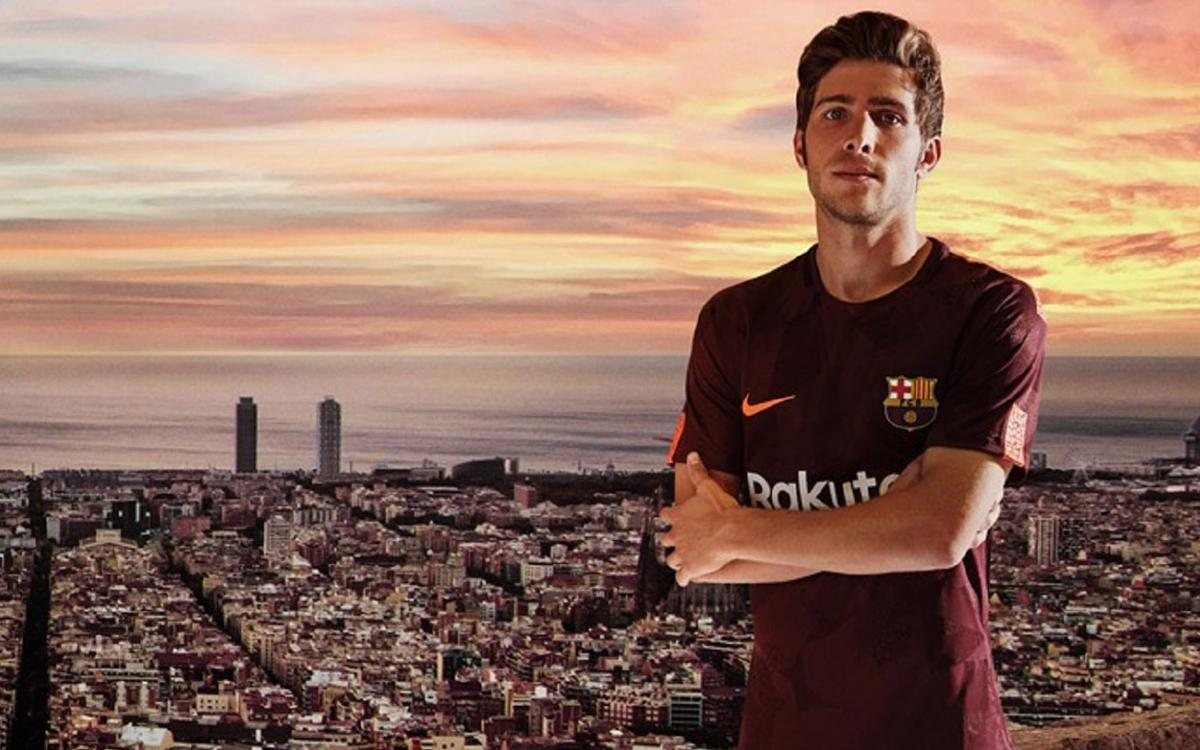 Nike presents dark maroon FC Barcelona third strip for 2017 18 season fb55f6c6ce6